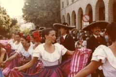 Festival 1981 Sfilata Gruppo Messico