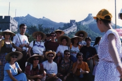 1990 Cina - Pechino - Grande Muraglia